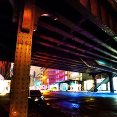 Wondering around under the Highline in the Meatpacking District.. ahhh :)
