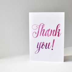 Check out this item in my Etsy shop https://www.etsy.com/au/listing/517278694/watercolour-thank-you-card-thank-you  #thankyoucard #thankyou #thanksgiving #card #paper #watercolour