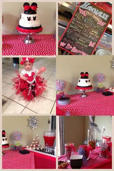Minnie Mouse Birthday Party!~*