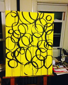 Black circles on Yellow http://ift.tt/2lgsvJPSubscribe to Fluid...