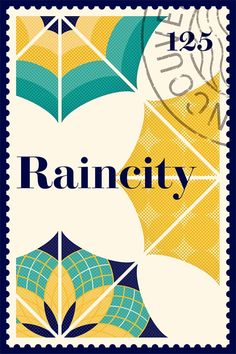Raincity Poster Design for an Exhibition by Working Format