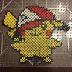 Flying Pikachu by gaiarage on DeviantArt   perler bead