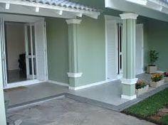 Resultado de imagem para fachadas de casas color verde