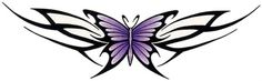Lupus Butterfly Tattoo