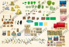 Top Down Zelda Style RPG Graphic Pack Anyone who has tried to created a Zelda style adventure game knows its a mammoth task due to the amount of graphics needed to create a sprawling world.This is the first graphic pack (of many) which will start to cover the many game elements needed. This first graphic [...]