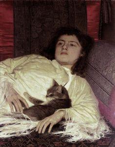 Ivan Kramskoi (1837 – 1887) – Pintor Russo_25