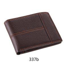 Leather Male Wallets Men Splice Large Capacity Card Holder Wallet