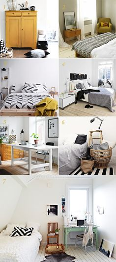 Black & White accents on room decor, Interior Styling, Scandinavian inspired design #interiorstyling, #roomdecor