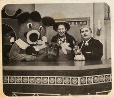 Dancing Bear, Mr. Moose, Mr. Green Jeans, Bunny Rabbit, and Captain Kangaroo. (But no Grandfather Clock or Magic Drawing Board...)