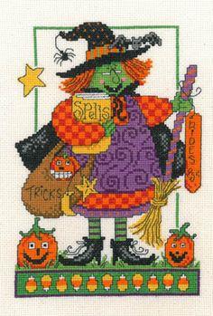 Tricks And Spells - Cross Stitch Pattern