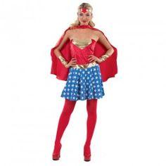Σούπερ ήρωας γυναικεία στολή ενηλίκων