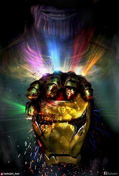 Avengers Endgame by EchoArt HUN.>>> less than 24 hours until endgame Thanos Marvel, Marvel Avengers, Avengers Humor, Captain Marvel, Marvel Comics, Memes Marvel, Marvel Fan, Thanos Hulk, Avengers Poster