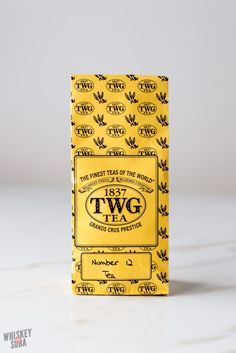 If you love coffee AND tea, you need to try TWG Tea's No. 12, a blend of black tea, a hint of coconut, and coffee beans.