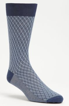 Free shipping and returns on Canali Check Socks at Nordstrom.com. Textured checks define smart socks knit from pure cotton.