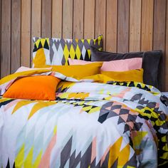 Getting this quilt cover! Kip & Co for Home Republic - Croc S14