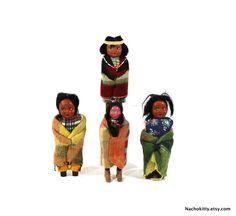 1920s Skookum Doll Collection Vintage Native by Nachokitty on Etsy