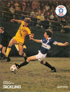 NASL Soccer North American Soccer League Players-Buzz Parsons