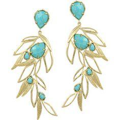 Kendra Scott Rosemary Turquoise Earrings