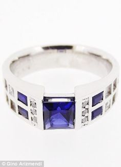 True blue: Tardis inspired ring by Gino Arizmendi  #JulepColorChallenge and #CreateYourJulepColor
