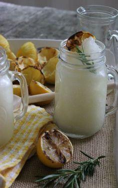Rosemary Lemonade Slushies :: Recipe on PocketChangeGourmet.com