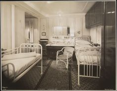 Second class cabin on RMS Olympic (1931)