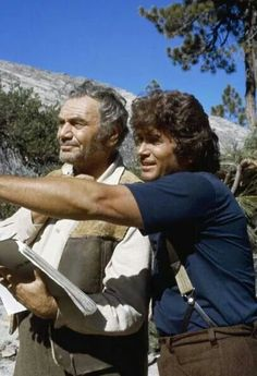 """Little House on the Prairie (behind the scenes) from the episode """"The Lord is my Shepard"""""""