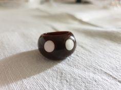 Ring bakelite Stud Earrings, Plastic, Vintage, Collection, Jewelry, Jewlery, Jewerly, Stud Earring, Schmuck
