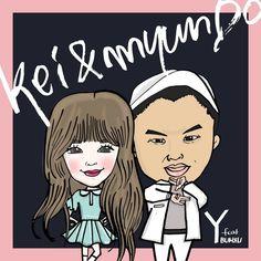 Kei  Lovelyz , myunDO - Y  feat. Bumzu