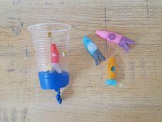 Dans le cadre de la team de Tête à Modeler, nous avions pour défi d'utiliser les flocons de maïs sur le thème de l'espace. Nous avons donc d... Alternative Education, Cub Scouts, Activities For Kids, Centre, Diy, Woodworking, Games, Galaxy, Space