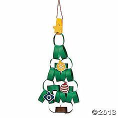 Paper Chain Christmas Tree Craft Kit