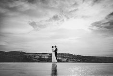 Autumn Wedding Photography / Cloudporn / Gabor Muray Photography / Swimming Pool