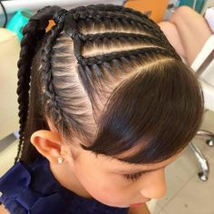 Super Hair Cuts For Kids Girls Curls Ideas Cute Little Girl Hairstyles, Long Face Hairstyles, Ethnic Hairstyles, Flower Girl Hairstyles, Trendy Hairstyles, Braided Hairstyles, Toddler Hair Bows, Braids For Kids, Super Hair