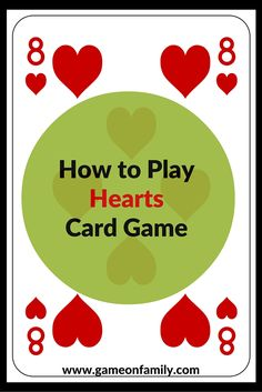 Learn How to Play the Crazy 8 Card Game! Let teach you the Crazy Eight rules for this classic card game! Great fun for family game night. Family Card Games, Fun Card Games, Card Games For Kids, Playing Card Games, Party Games, Fun Games For Teenagers, Group Card Games, Family Games Indoor, Dice Games