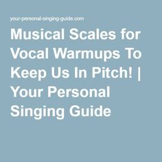 Musical Scales for Vocal Warmups To Keep Us In Pitch! | Your Personal Singing Guide #howtosingintune Vocal Warmups, Vocal Exercises, Singing Exercises, Relaxation Exercises, Good Posture, Piece Of Music, Sounds Great, Songs To Sing, Music Covers