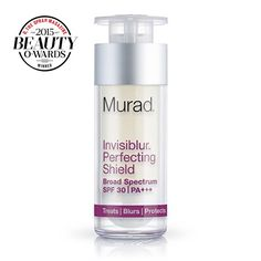 The Murad Invisiblur Perfecting Shield blurs blemishes, fades wrinkles, and provides sun protection (SPF in one face cream. Learn more and shop today! Anti Aging Treatments, Skin Care Treatments, Anti Aging Tips, Anti Aging Skin Care, Skin Care Clinic, Sensitive Skin Care, Skin Care Remedies, Face Skin Care, Flawless Makeup