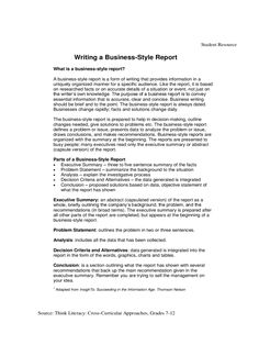 Business Report Template - 7 Free Templates In Pdf, Word within Section 7 Report Template Report Writing, Business Writing, Social Media Report, Incident Report Form, Progress Report Template, Word Free, Business Professional, Online Entrepreneur, Templates