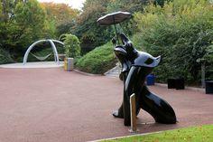 sculptures de Jean Louis Toutain, Futuroscope. Poitiers