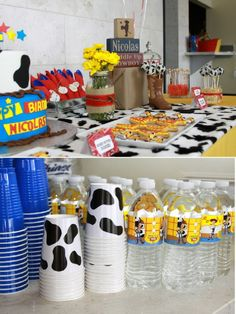 Woody's Round-Up Party. My daughter told me she wanted a Jessie Party this year...I might be able to adjust this!