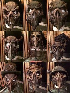 Mushroomhead masks