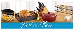 Host a Pampered Chef Cooking Show