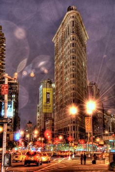 The Flatiron Building, or Fuller Building, as it was originally called, is located at 175 Fifth Avenue in the borough of Manhattan, New York City and is considered to be a groundbreaking skyscraper. Upon completion in 1902 it was one of the tallest buildings in the city and the only skyscraper north of 14th Street.