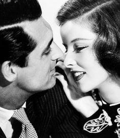 Cary Grant and Katharine Hepburn