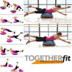 Exercícios no Bosu