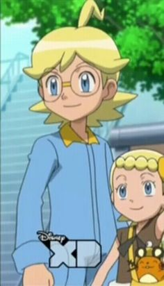 Clemont and Bonnie - Apparently, Pokemon is shown on DisneyXD in some country