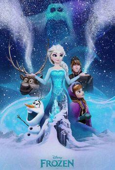 The Geeky Nerfherder: Cool Art: 'Frozen' by Andy Fairhurst Film Disney, Disney Fan Art, Disney Movies, Frozen Images, Frozen Pictures, Frozen Fan Art, Frozen Movie, Frozen Wallpaper, Disney Wallpaper