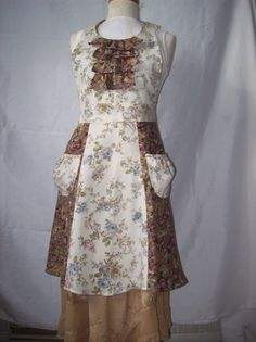 Hey, I found this really awesome Etsy listing at https://www.etsy.com/listing/182466782/vintage-inspired-floral-ruffled-full