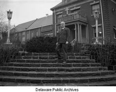 New Castle County workhouse, Greenbank, Delaware, Warden Elwood Wilson, 1942