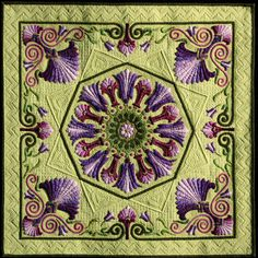 2011 Sydney #Quilt Show    love the colors