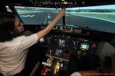 unser Boeing 737-800 Simulator Startvorbereitungen