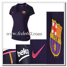 00ca7816c8c Champions League Barcelona Auswärtstrikot Damen Nike Lila 2016 2017